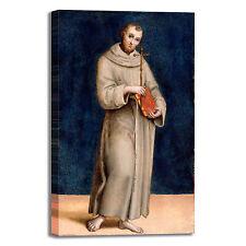 Raffaello san Francesco d'Assisi quadro stampa tela dipinto telaio arredo casa