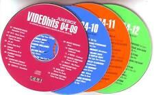 4 VCD's GWEN STEFANI EMINEM NELLY U2 USHER BEASTIE BOYS GREEN DAY POWDERFINGER