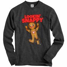 Lookin Snappy Broken Leg Ginger Bread Man Adult Christmas Jumper Sweatshirt