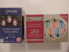 Novelty Christmas Light Set(Choice of 2)