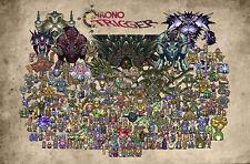 RGC Huge Poster - Chrono Trigger Super Nintendo SNES DS 3DS PS1 - EXT010