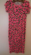 Bnwt Pink Tiger Tier Druck Kleid von Cherry Courture