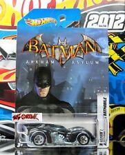 Hot Wheels 2012 Wal-Mart Exclusive #6 Batman Arkham Asylum Batmobile IMPORTED