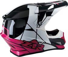 Z1R Rise Motorcycle MX ATV Helmet - Pink - All Sizes