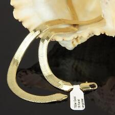 Schlangenkette 45 / 47 cm x 7 mm 750er Gold 18 Karat vergoldet Damen K1787