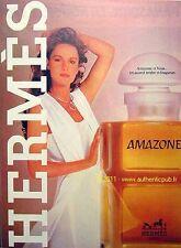 PUBLICITE COULEUR PARFUM HERMES AMAZONE DE 1981 FRENCH AD PUB PERFUME