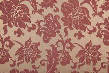 Cheena Floral damask Damask Faux Silk  Curtain/Craft Fabric