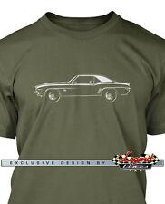 Chevrolet Camaro 1969 Coupe Men T-Shirt - Multiple Colors & Sizes - American Car