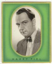 Harry Piel - writer, director, actor - 1936 cigarette photo card
