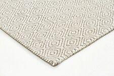 SITAR 304 BEIGE WOOL RUG Cream Flatweave 3 SIZES Modern Floor Mat FREE DELIVERY*