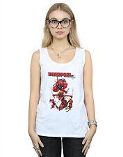 Marvel Mujer Deadpool Family Camiseta Sin Mangas