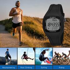 Sportuhr, Synoke Kalorien Schrittzähler Chronograph Outdoor-50m wasserdicht