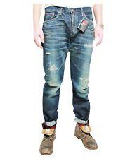 EDWIN jeans uomo modello  053RV REBEL MADE IN JAPAN  con rotture 100% cotone