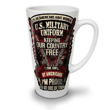 Stati Uniti America Militare dell'Esercito Nuovo White Tea Latte Macchiato caffè tazza 12 17 OZ | wellcoda