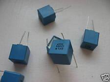 Lotto di 10 Condensatori In plastica P42 422NF 63V 1%