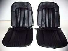71 72 Chevelle El Camino Bucket Seat Covers black