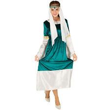 Disfraz de Princesa Elfo Mujer Medival Adulto Señoras Traje Carnaval Halloween