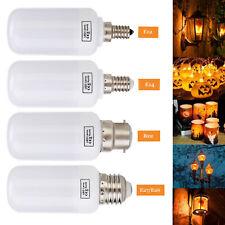 LED Flame Fire Light Effect Simulated E27 E14 E26 3 Modes Corn Bulbs Decor Lamp