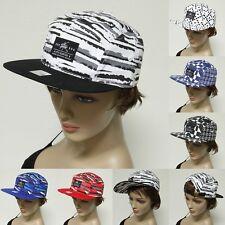 Baseball Cap  Multi Color Flat Bill Cap Fashion Hip Hop Hat Fashion  Snapback