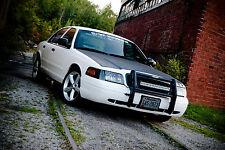 "Ford ""Interceptor"" Trim Emblem Decal Sticker P71 Crown Victoria Vic Police CVPI"