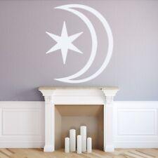 Star And Moon Nursery Wall Sticker WS-15458