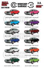 Ford XA GT 351 V8 - Sedan - Sticker