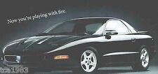 1995 Pontiac Brochure: FIREBIRD Trans Am,Formula,GRAND AM,PRIX,BONNEVILLE SSEi,