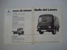 advertising Pubblicità 1972 MERCEDES BENZ L 206 / 306 D