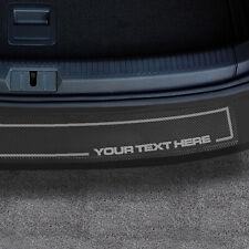 Renault Clio IV 5 Door 2012+ Rear Bumper Protector Lip Vinyl & Logo [2 PIECE]