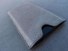 iPhone 7 Plus/6 s Cuir étui pour télephone portable gris Coque Houssé Étui