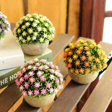 Outdoor Fake Artificial Plants In Retro Pot Garden Office Wedding Home Decor