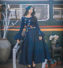 Fashion Princess Dolly Lolita classic Kawaii Party Long Sleeve Dress Onepiece