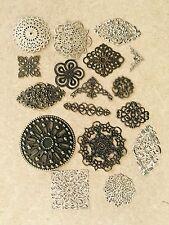 Metal Embellishments - paper craft / scrapbooking / jewellery / crafts