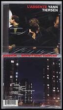 """YANN TIERSEN """"L'Absente"""" (CD) 2001 NEUF/NEW"""