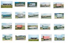 Ratio Wagons plastic model kits in OO gauge (19 models)
