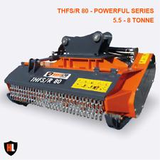 Forestry Flail Head Mower - 5.5-8 Tonne THFS/R Powerful Series