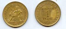 Gertbrolen 1 Franc Chambre de Commerce  1921 Exemplaire N° 5