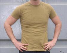 Ejército holandés G1 Ecw Mostaza Térmica Top de manga corta en clima frío capa base Camisa