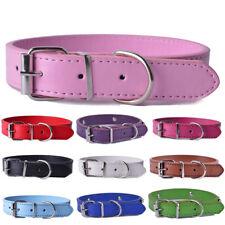 Dog collar Colorful Pu Leather pet puppy Collars Adjustable Pet cat Neck Strap