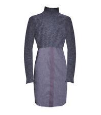 Elie Tahari Raleigh Sweater Dress Charcoal