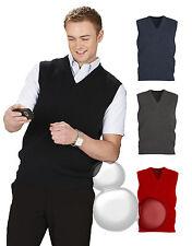Mens Wool Vest Size XS S M L XL 2XL 3XL 5XL Business