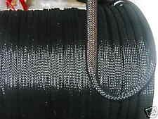 1/4 EXPANDABLE SLEEVING 25ft BLACK standard weave TECHFLEX