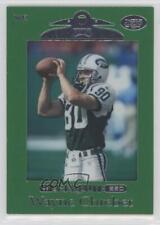 1999 Playoff Absolute SSD Green Border #75 Wayne Chrebet New York Jets Card