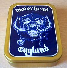 Motorhead 1 and 2oz Tobacco/Storage Tins