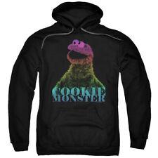 Sesame Street Cm Halftone Mens Pullover Hoodie Black