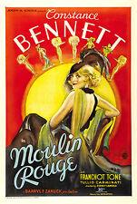 74 Vintage Theatre & Show Art Poster Moulin Rouge