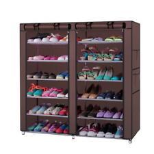 6 Tier Shoe Rack Shoe Shelf Storage Closet Organizer Cabinet with Cover