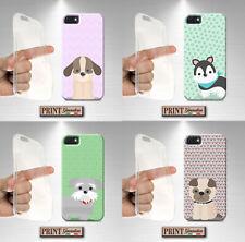 Cover per,Iphone,silicone,morbido,CANE,CUCCIOLI,COLORITO,ANIMALI DOMESTICI