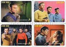 2009 STAR TREK ORIGINAL SERIES SET OF 110 CARDS