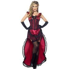 Sexy Burlesque Kostüm Saloon Girl Westernkleid Can Can Kleid Saloongirl Tänzerin